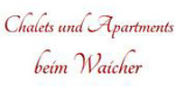 Logo Chalets & Apartments beim Waicher - Appartement