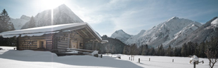 Hotels en chalets in de Alpen