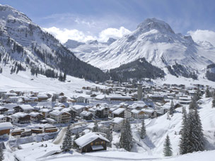 De dorpsfoto van Lech am Arlberg ( Lech Zrs Tourismus by josef mallaun)