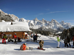 foto van wintersport in Itali