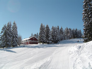 foto van skigebied in Duitsland