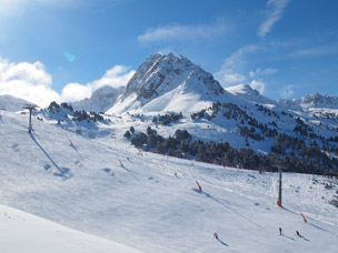foto van skigebied in Andorra